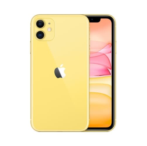Apple iPhone 11 4G 128GB (4GB Ram) Yellow EU