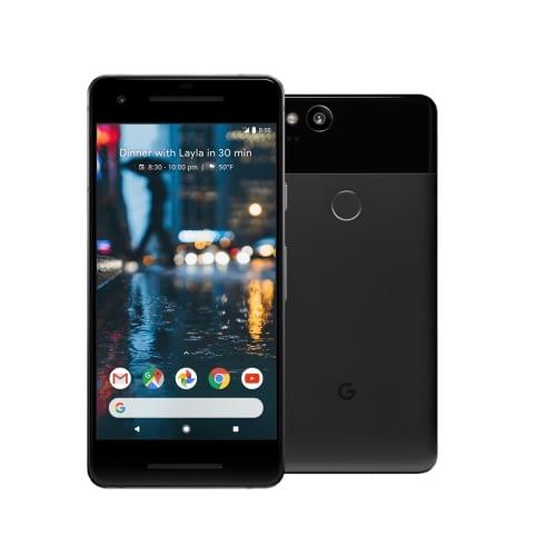 Google Pixel 2 4G 128GB Just Black DE*