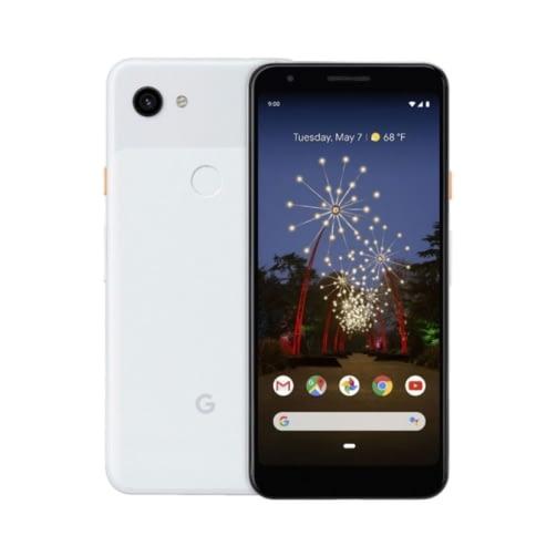 Google Pixel 3a XL 4G 64GB (4GB Ram) Single-Sim + eSim Clearly White DE*