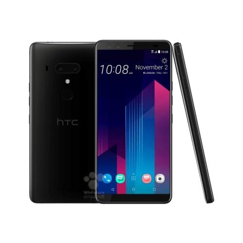 HTC U12 Plus 4G 64GB Dual-Sim Ceramic Black DE*