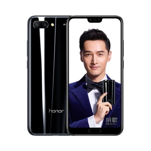 Honor 10 4G 64GB Dual-Sim Midnight Black DE*