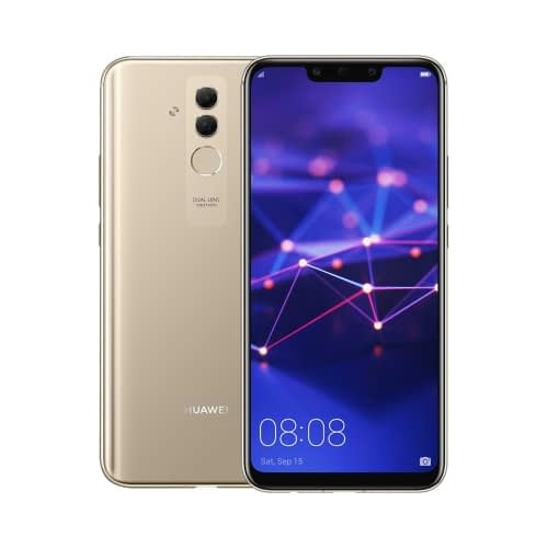 Huawei Mate 20 Lite 4G 64GB Dual-Sim Platinum Gold EU