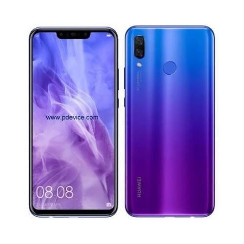 Huawei Nova 3 (2018) 4G 128GB Dual-Sim Blue EU