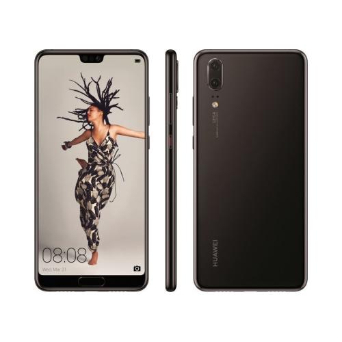 Huawei P20 4G 128GB (4GB Ram) Single-Sim Black EU
