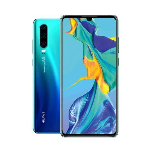 Huawei P30 4G 128GB (6GB Ram) Single-Sim Aurora Blue EU