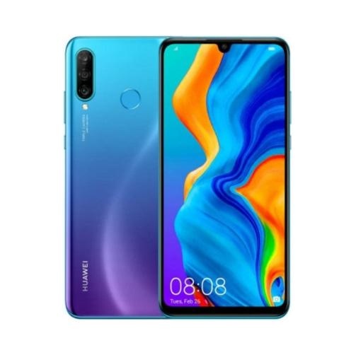 Huawei P30 Lite 4G 128GB (4GB Ram) Dual-Sim Peacock Blue EU