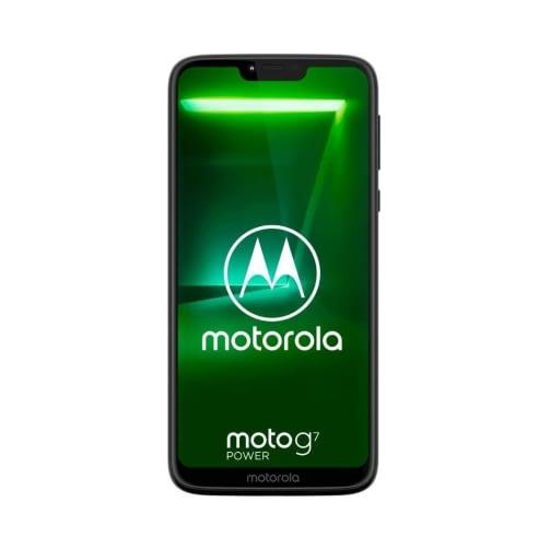 Motorola Moto G7 Power (XT1955-4 2019) 4G 64GB (4GB Ram) Dual-Sim Ceramic Black EU