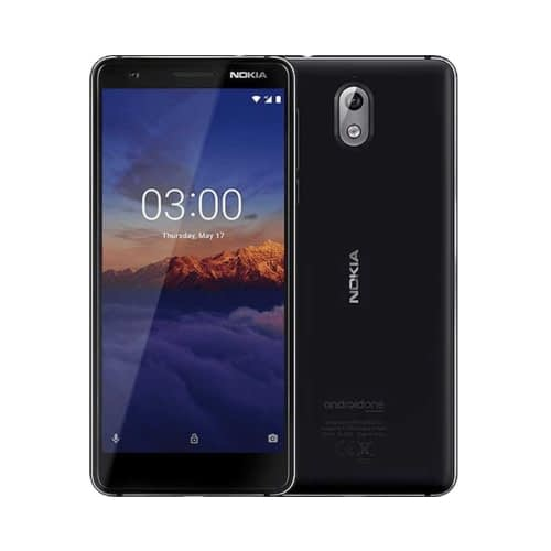 Nokia 3.1 4G 16GB Dual-Sim Black Chrome EU