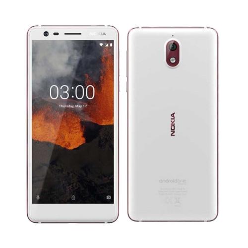 Nokia 3.1 4G 16GB Dual-Sim White Iron GR
