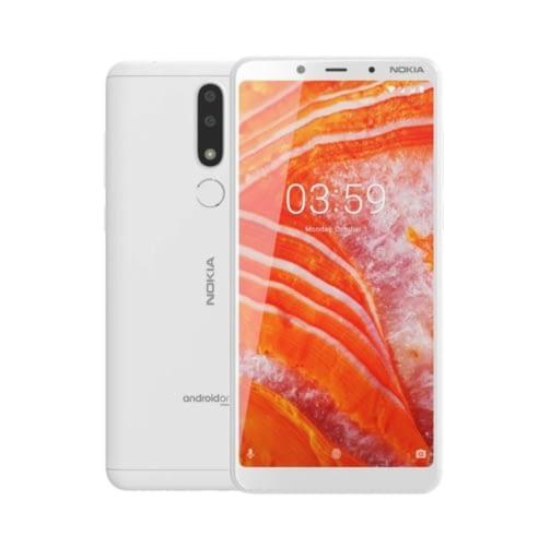Nokia 3.1 Plus 4G 16GB (2GB Ram) Dual-Sim White EU