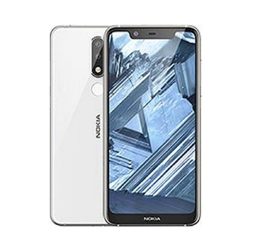 Nokia 5.1 Plus 4G 32GB (3GB Ram) Dual-Sim Glacier White EU