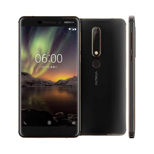 Nokia 6 (2018) 4G 64GB Dual-Sim Matte Black EU
