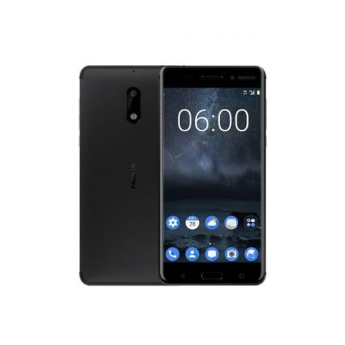 Nokia 6 4G 32GB Dual-Sim Matte Black DE