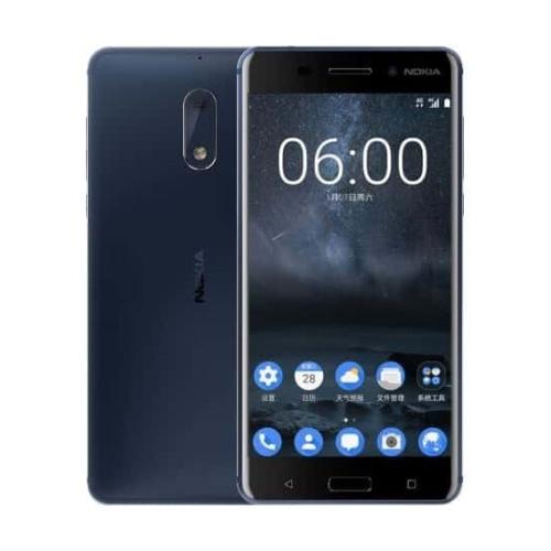 Nokia 6 4G 32GB Dual-Sim Tempered Blue DE*