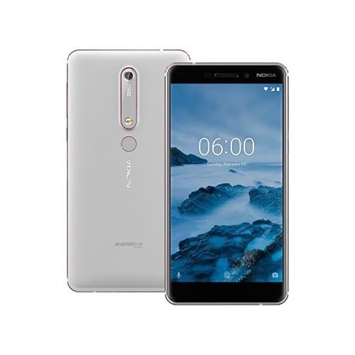 Nokia 6.1 (2018) 4G 32GB Dual-Sim White Iron EU