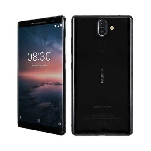 Nokia 8 Sirocco 4G 128GB Single-Sim Black EU