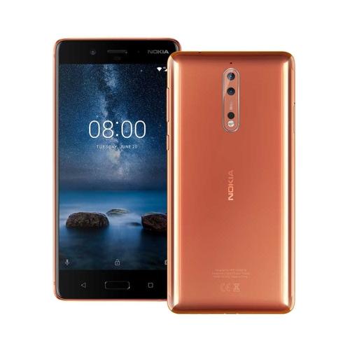 Nokia 8 4G 64GB Dual-Sim Polished Copper EU
