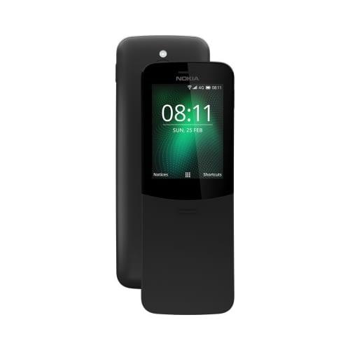 Nokia 8110 4G 4GB Dual Sim Traditional Black EU