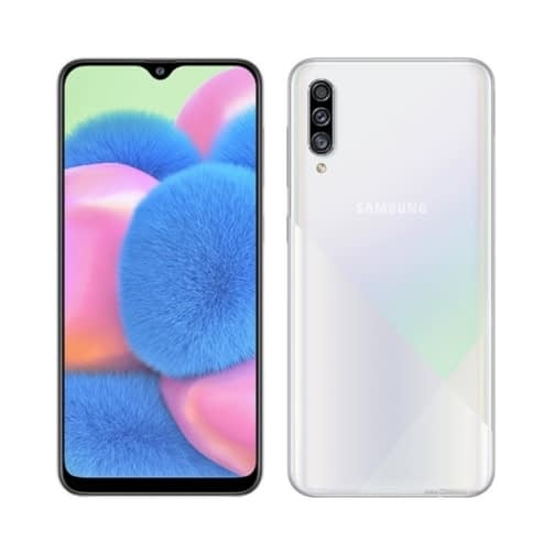 Samsung Galaxy A30s (A307 2019) 4G 128GB (4GB Ram) Dual-Sim Prism Crush White EU