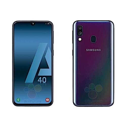 Samsung Galaxy A40 (A405 2019) 4G 64GB (4GB Ram) Dual-Sim Black EU