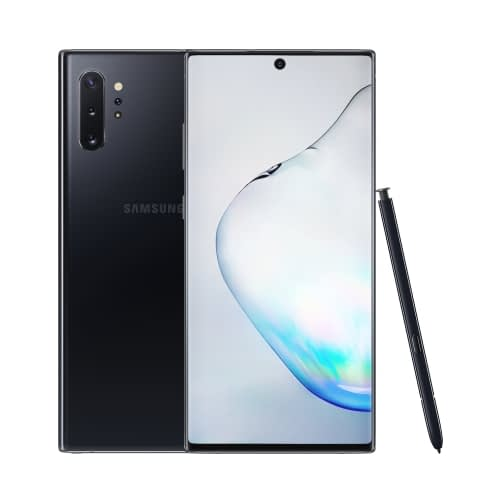 Samsung Galaxy Note 10 Plus (N975 2019) 4G 256GB (12GB Ram) Dual-Sim Aura Black EU