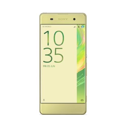 Sony Xperia XA (F3116 2016) 4G 16GB (2GB Ram) Dual-Sim Lime Gold EU