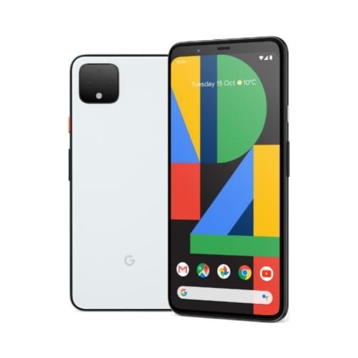 Google Pixel 4 4G 64GB (6GB Ram) Single-Sim Clearly White DE*