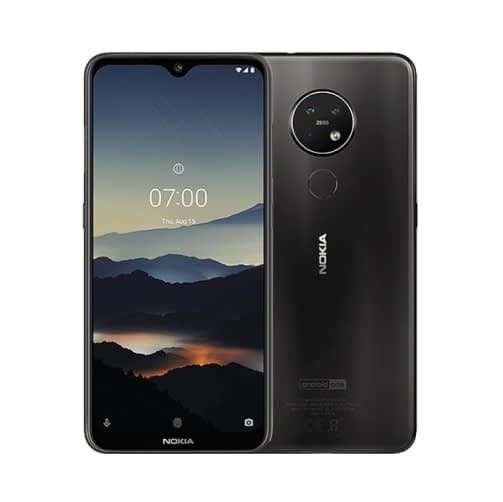 Nokia 7.2 4G 64GB (4GB Ram) Dual-Sim Charcoal EU