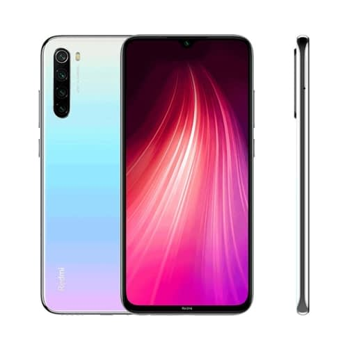 Xiaomi Redmi Note 8 4G 128GB (4GB Ram) Dual-Sim Moonlight White EU
