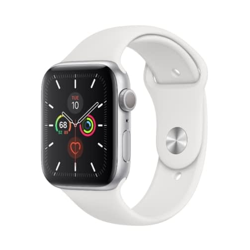 Apple Watch (Series 5 2019) Gps + Cellular 32GB 40mm Silver Aluminum Case + White Sport Band EU