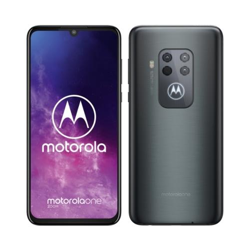 Motorola One Zoom (XT2010 2019) 4G 128GB (4GB Ram) Dual-Sim Electric Gray EU