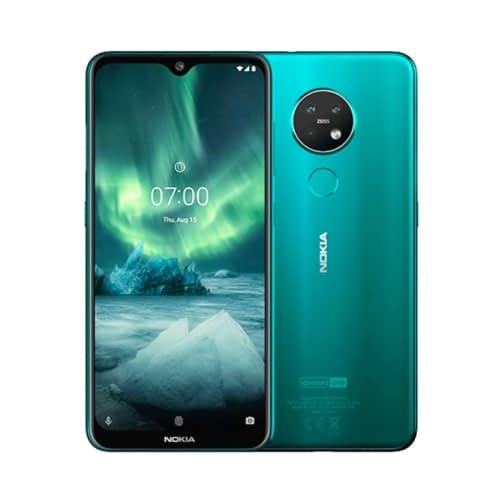 Nokia 7.2 4G 64GB (4GB Ram) Dual-Sim Cyan Green EU