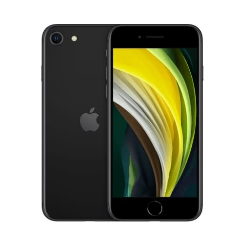 Apple iPhone SE (2020) 4G 64GB (3GB Ram) Single-Sim +eSim Black EU