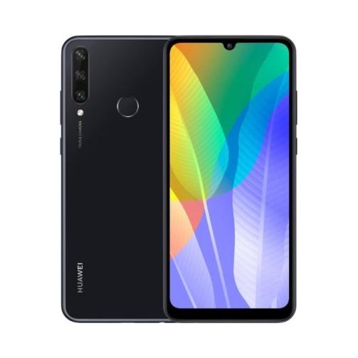 Huawei Y6P (2020) 4G 64GB (3GB Ram) Dual-Sim Midnight Black EU
