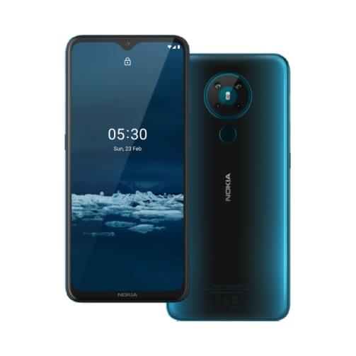 Nokia 5.3 4G 64GB (3GB Ram) Dual-Sim Cyan EU