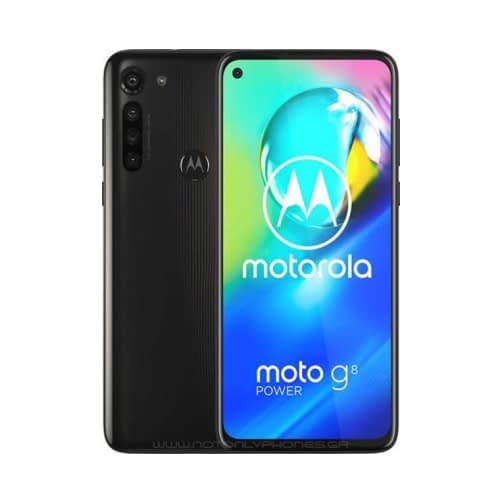 Motorola Moto G8 Power 4G 64GB (4GB Ram) Dual-Sim Smoke Black EU
