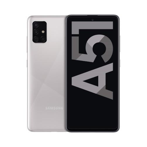 Samsung Galaxy A51 (A515 2020) 4G 128GB (4GB Ram) Dual-Sim Haze Crush Silver EU
