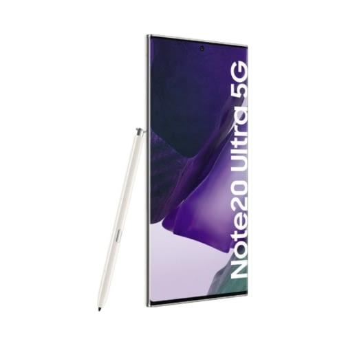 Samsung Galaxy Note 20 Ultra 5G (N986B 2020) 256GB (12GB Ram) Dual-Sim Mystic White EU