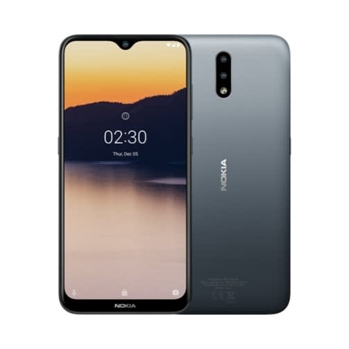 Nokia 2.3 4G 32GB (2GB Ram) Dual-Sim Charcoal EU
