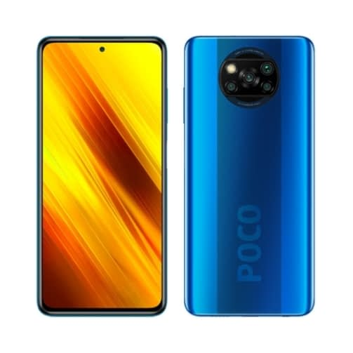 Xiaomi Pocophone X3 NFC 4G 128GB (6GB Ram) Dual-Sim Cobalt Blue EU