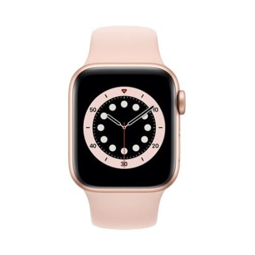 Apple Watch (Series 6 2020) Gps 32Gb 44mm Gold Aluminum Case + Pink Sand Sport Band EU
