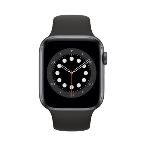 Apple Watch (Series 6 2020) Gps 32Gb 44mm Space Gray Aluminum Case + Black Sport Band EU