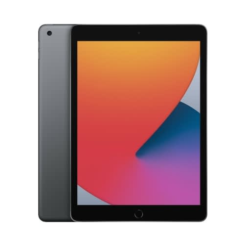 Apple iPad 10.2 (2020 8 Generation) WiFi 128GB (3GB Ram) Space Grey EU (MYLD2FD/A)