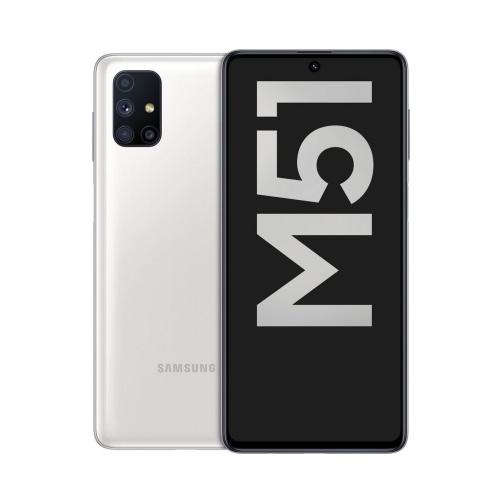 Samsung Galaxy M51 (M515 2020) 128GB (6GB Ram) Dual-Sim White EU