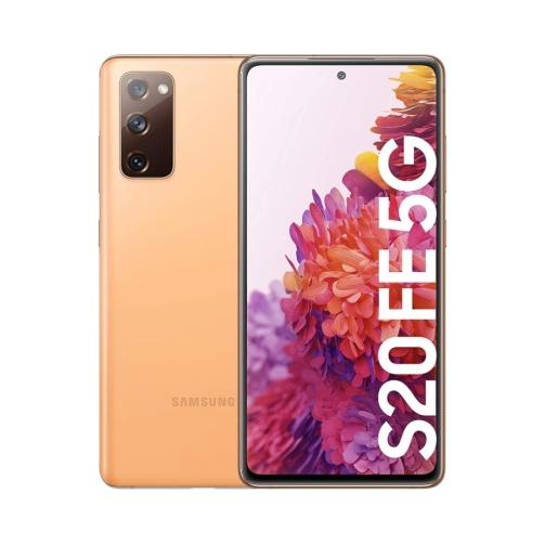 Samsung Galaxy S20 FE (G781 2020) 5G 128GB (6GB Ram) Dual-Sim Cloud Orange EU