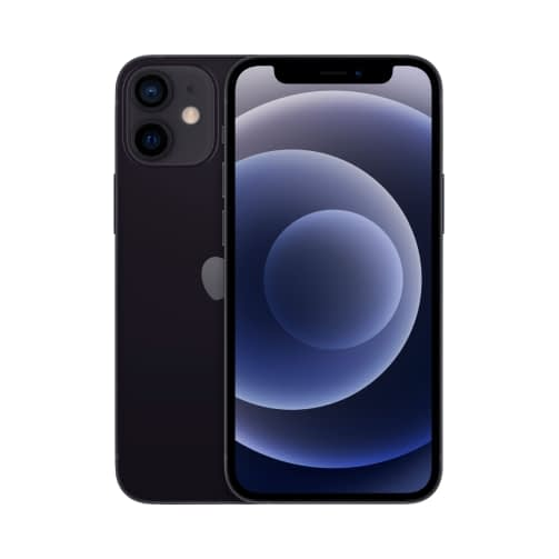 Apple iPhone 12 Mini 5G 64GB (4GB Ram) Single-Sim +eSim Black EU