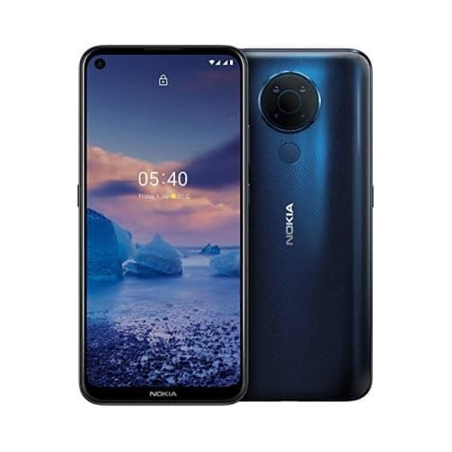Nokia 5.4 4G 128GB (4GB Ram) Dual-Sim Polar Night EU