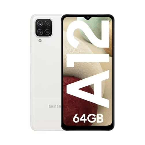 Samsung Galaxy A12 (A125 2020) 4G 64GB (4GB Ram) Dual-Sim White EU