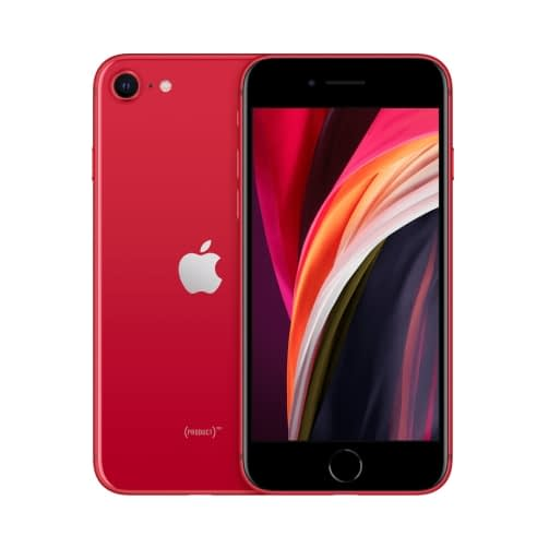 Apple iPhone SE (2020) 4G 128GB (3GB Ram) Single-Sim +eSim Red EU