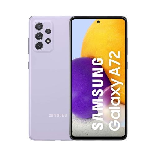 Samsung Galaxy A72 (A725 2021) 4G 128GB (6GB Ram) Dual-Sim Awesome Lavender EU